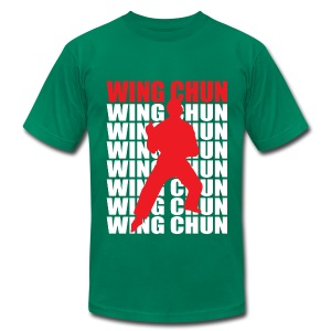 Wing Chun - Men's T-Shirt by American Apparel