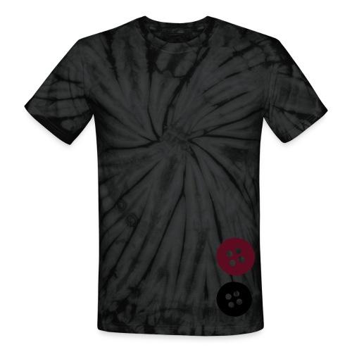 Tye-dye buttons - Unisex Tie Dye T-Shirt