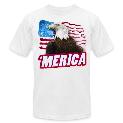 'Merica T-Shirt | Made in USA - Men's Fine Jersey T-Shirt