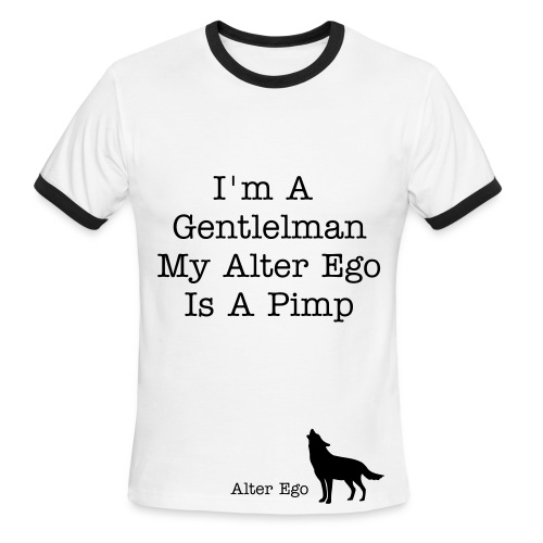 Alter Ego Wisdom - Men's Ringer T-Shirt