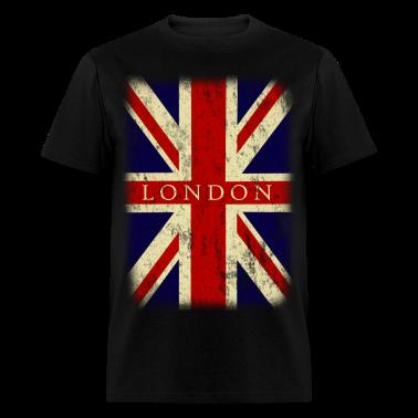 Vintage UK London Flag