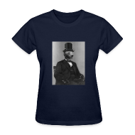 Women's T-Shirts ~ Women's T-Shirt ~ Abearham Lincoln [F]
