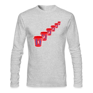 Bozo Bucket Game - Men's Long Sleeve T-Shirt by Next Level