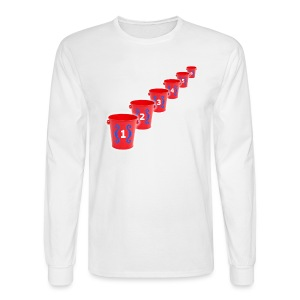 Bozo Bucket Game - Men's Long Sleeve T-Shirt