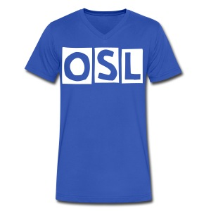 OSL - Men's V-Neck T-Shirt by Canvas