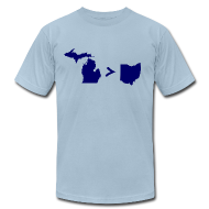 T-Shirts ~ Men's T-Shirt by American Apparel ~ Geography and Math