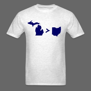 Geography and Math - Men's T-Shirt