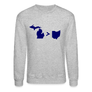 Long Sleeve Shirts ~ Crewneck Sweatshirt ~ Geography and Math