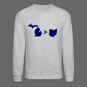 Geography and Math - Crewneck Sweatshirt