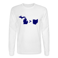 Long Sleeve Shirts ~ Men's Long Sleeve T-Shirt ~ Geography and Math
