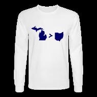 Long Sleeve Shirts ~ Men's Long Sleeve T-Shirt ~ Geography and Math
