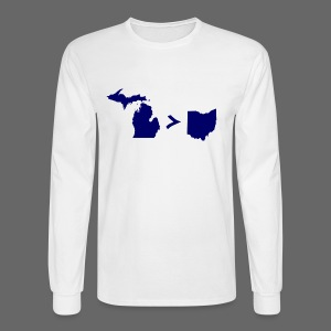 Geography and Math - Men's Long Sleeve T-Shirt