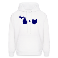 Hoodies ~ Men's Hoodie ~ Geography and Math
