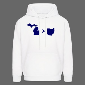 Geography and Math - Men's Hoodie