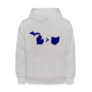 Sweatshirts ~ Kids' Hoodie ~ Geography and Math