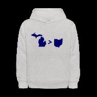 Sweatshirts ~ Kids' Hoodie ~ Geography and Math