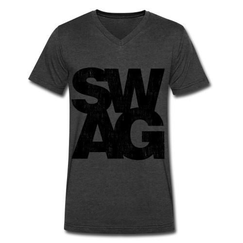 swag vneck mens - Men's V-Neck T-Shirt by Canvas