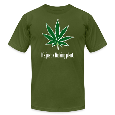 Just A Plant American Apparel T-Shirt