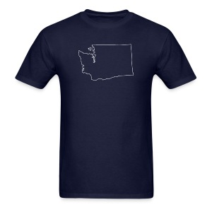 Washington Outline - Men's T-Shirt