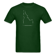 T-Shirts ~ Men's T-Shirt ~ Idaho Outline