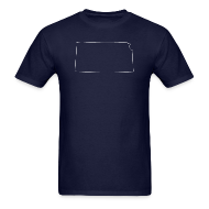 T-Shirts ~ Men's T-Shirt ~ Kansas Outline