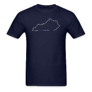 T-Shirts ~ Men's T-Shirt ~ Kentucky Outline