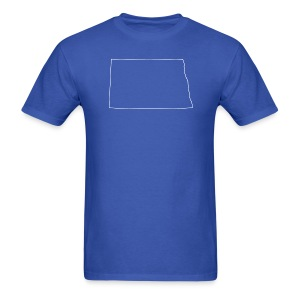 North Dakota Outline - Men's T-Shirt