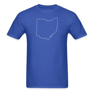 Ohio Outline - Men's T-Shirt