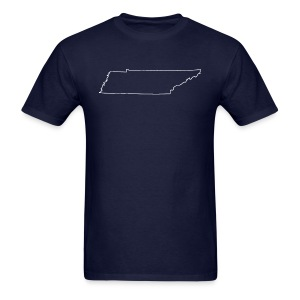 Tennessee Outline - Men's T-Shirt