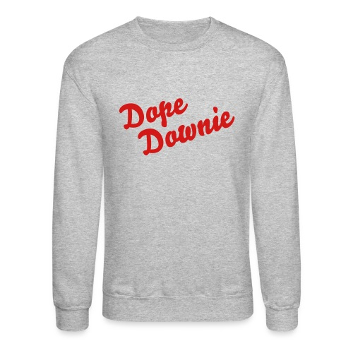 Dope Downie: Crewneck Dope Downie (red writing) - Crewneck Sweatshirt