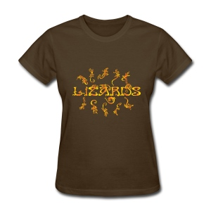 lizards 1 - Women's T-Shirt