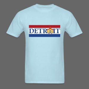 Detroit Netherlands Flag - Men's T-Shirt