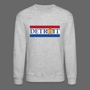 Detroit Netherlands Flag - Crewneck Sweatshirt