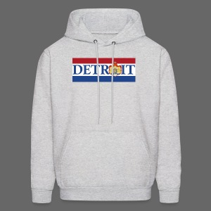 Detroit Netherlands Flag - Men's Hoodie