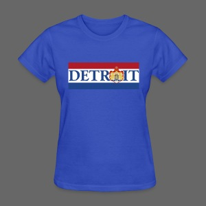 Detroit Netherlands Flag - Women's T-Shirt