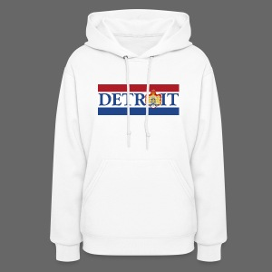 Detroit Netherlands Flag - Women's Hoodie