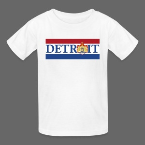 Detroit Netherlands Flag - Kids' T-Shirt