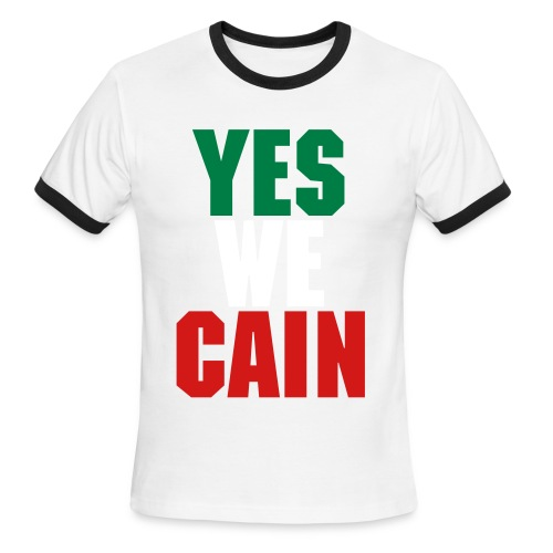 Yes We CAIN - Men's Ringer T-Shirt