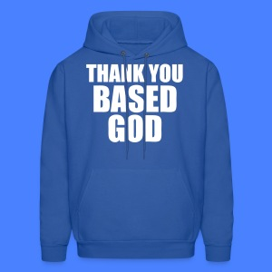 Thank You Based God Hoodies - stayflyclothing.com - Men's Hoodie