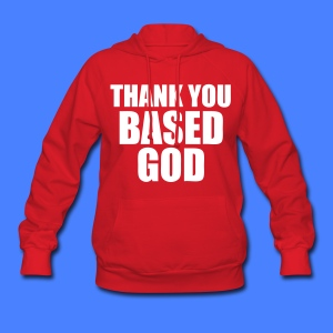 Thank You Based God Hoodies - stayflyclothing.com - Women's Hoodie
