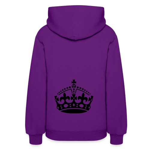 Stay calm and be yourself - Women's Hoodie