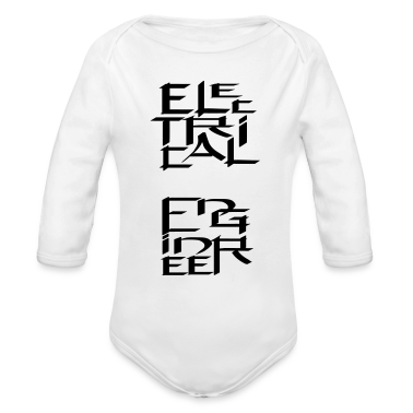 Electrical Engineer Character Baby Bodysuits