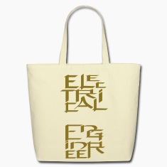 Electrical Engineer Character Bags