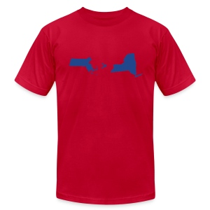 Math & Geography - Men's T-Shirt by American Apparel