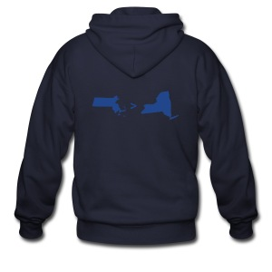 Math & Geography - Men's Zip Hoodie