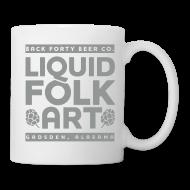 Mugs & Drinkware ~ Coffee/Tea Mug ~ Liquid Folk Art Coffee Mug