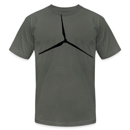 WR left side text - Men's Fine Jersey T-Shirt