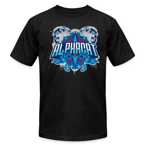 Alphacat Black Tee by American Apparel - Men's  Jersey T-Shirt