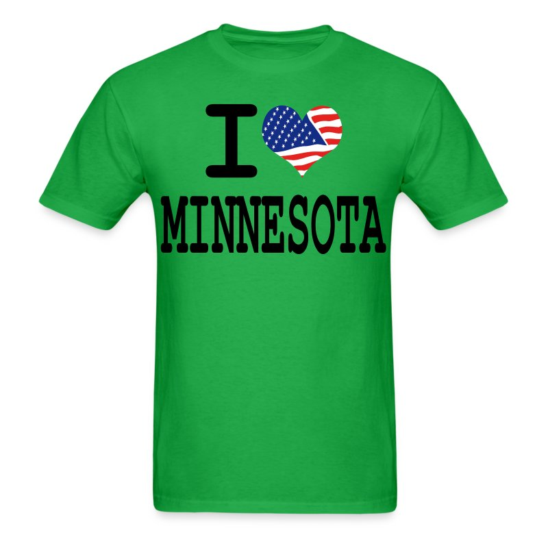 i love minnesota - Men's T-Shirt