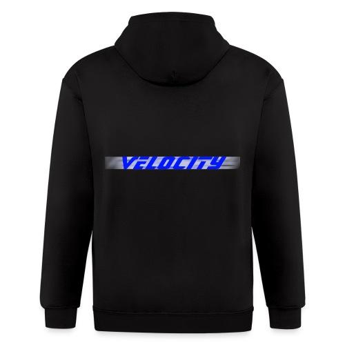 Velocity Motion Blur Hoodie - Men's Zip Hoodie